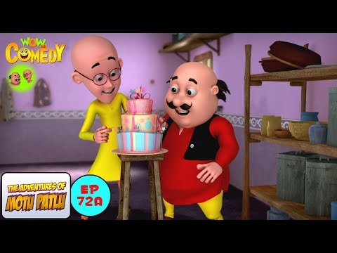 Cake Competition - Motu Patlu in Hindi - 3D Animated cartoon series for kids - As on Nick