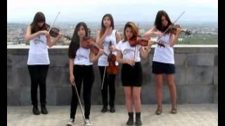 System Of A Down - Aerials (Violin Revolution cover)