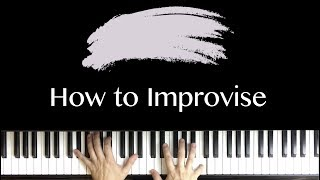 How to Improvise. The Creative Brain vs. The Analytical Brain. Music Education Video
