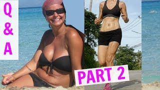 Exercise Routine & Weight loss   Before & After   Q&A PART 2