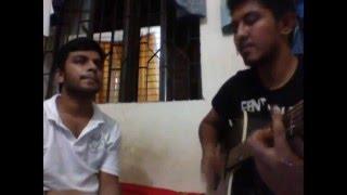 Andhar raite chad hoye tui acoustic guitar cover