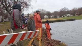 Yankee Fisherman, April 20, 2017: Fairfield PAL Trout Derby and opening day