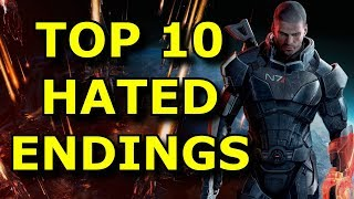 TOP 10 Most HATED Game Endings!
