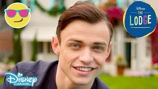The Lodge | Thomas Doherty on Characters Sean & Harry Hook | Official Disney Channel UK