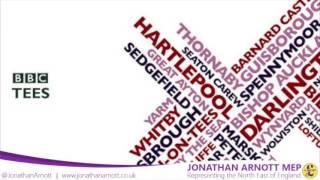 Jonathan Arnott MEP appears on BBC Tees 02/06/2016