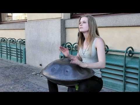 Xxx Mp4 Great Street Music In Prague The Hang Instrument Steel Pan Old Town Square 3gp Sex