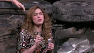سكتش حادث منى زكي - SNL بالعربي