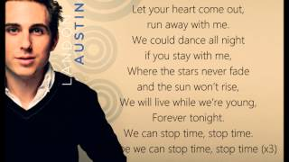 Landon Austin - Stop Time Lyric Video