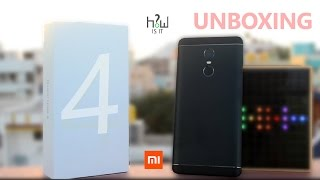 Redmi note 4 MATT BLACK Retail Unit Unboxing compared with Gold Color - The Real BLACK ? | HoeiSiT