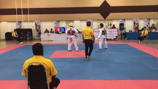 Taekwondo Sukipt 2018- Aizat vs UPSI