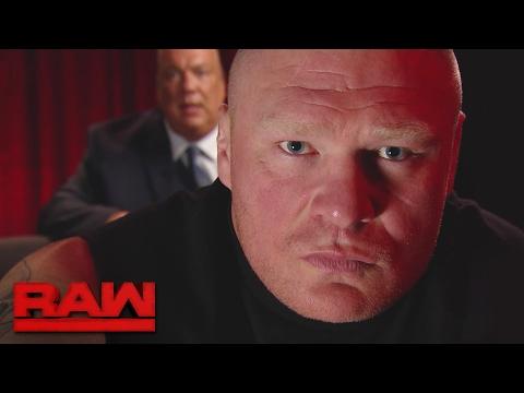 Brock Lesnar issues a warning to Goldberg Raw Feb. 20 2017