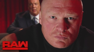 Brock Lesnar issues a warning to Goldberg: Raw, Feb. 20, 2017