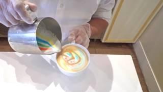 Crumbs: Rainbow Latte Tutorial