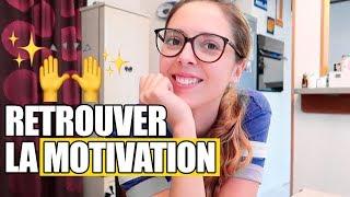 Comment retrouver la motivation & le moral | Weekly Vlog