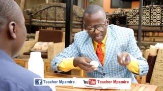 Chicken eaten alive.Teacher Mpamire.(African Comedy)