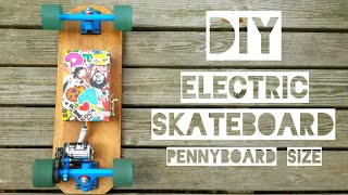 DIY ELECTRIC SKATEBOARD/ For Students/ Tutorial
