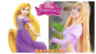 Disney Princess Characters in Real Life