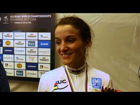 World Champion Armitstead talking in the