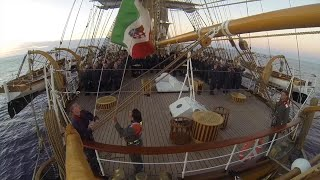 "Palermo, arriva la Amerigo Vespucci: ecco la ""nave più bella del mondo"""