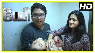 Baby Tamil movie scenes   Shira refuses to believe Manoj about spirit   Manoj and Shira part ways