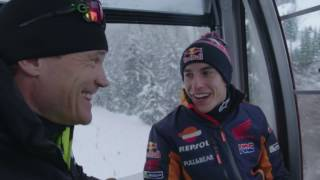 The Making Of - Marc Marquez's MotoGP Snow Ride!