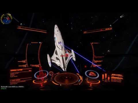 Elite dangerous PVP FAS(UXX[ICU]) VS Cutter (lllYXEP)