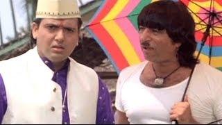 Govinda, Karishma Kapoor, Raja Babu - Action Scene 5/21