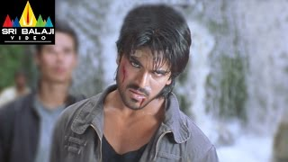 Chirutha Movie Back to Back Fight Scenes | Ram Charan, Ashish Vidyarthi | Sri Balaji Video