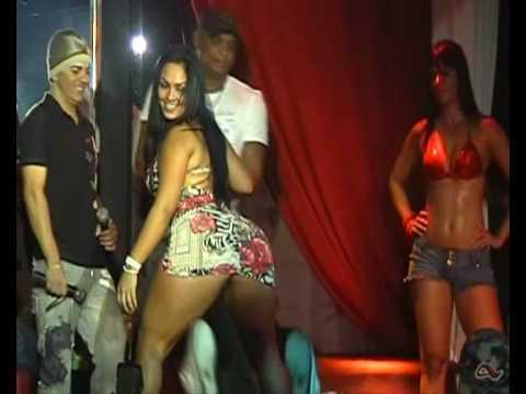 Booty shake Show sexy com a Mulher Melancia Big ass Chica caliente