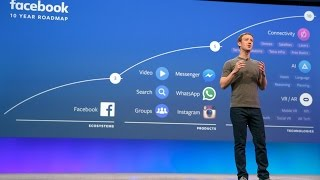 Mark Zuckerberg keynote at Facebook F8 Developers Conference (part 2)