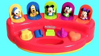 Disney Baby Mickey Mouse Surprise Pop-Up Toys Surprise Pals Learn Awesome Colors with Disney Toys