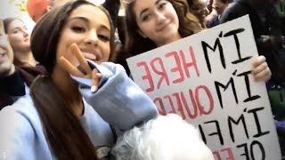 Ariana Grande Leads Donald Trump Protest In Washington | Full Video