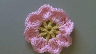 Download How to crochet a flower tutorial / Easy primrose flower - (También en español) - Yolanda Soto lopez 3Gp Mp4