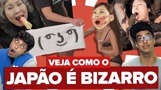 VEJA COMO O JAPÃO É BIZARRO!!