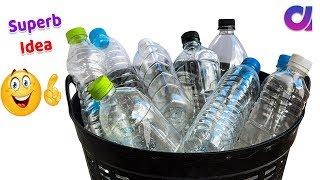 Genius plastic bottle craft ideas to make in 5 minute/reuse idea  Best out of waste Artkala