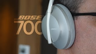 New Bose Noise Cancelling Headphones 700 - First Look