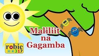 Maliliit Na Gagamba Animated | Awiting Pambata | Incy Wincy Spider Tagalog Nursery Rhymes