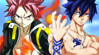 Fairy Tail - Natsu vs Gray