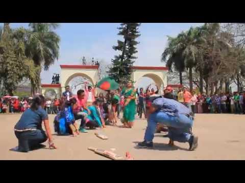 ICC World Twenty 20 Bangladesh 2014, Flash Mob   Islamic University, Kushtia
