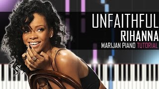 How To Play: Rihanna - Unfaithful | Piano Tutorial