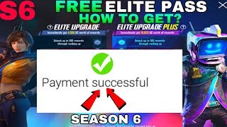How To Get Free Elite Royal Pass In Pubg Mobile - Pubg Mobile Season 6