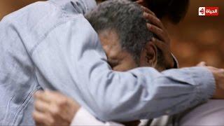 """مشهد حزين جدا """" سر بكاء الفنان """"سامى العدل"""" و""""عمرو عابد"""" ... الحلقة 9 من """"بين السرايات """""""