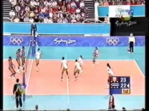PERU VS CUBA SIDNEY 2000