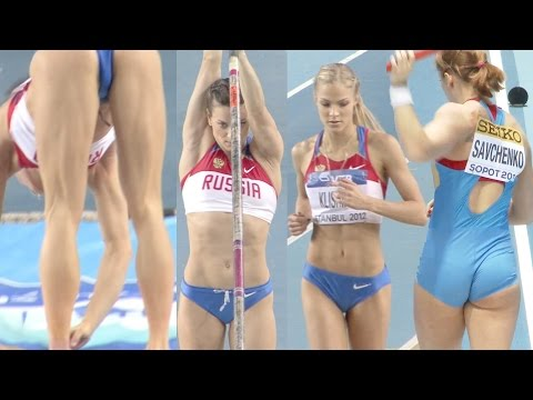 desire Russian gorgeous female athletes in Rio earnestly