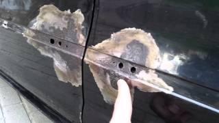 VW Passat CC rusting