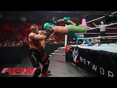 Xxx Mp4 The Lucha Dragons Los Matadores Vs The New Day The Ascension Raw Aug 3 2015 3gp Sex