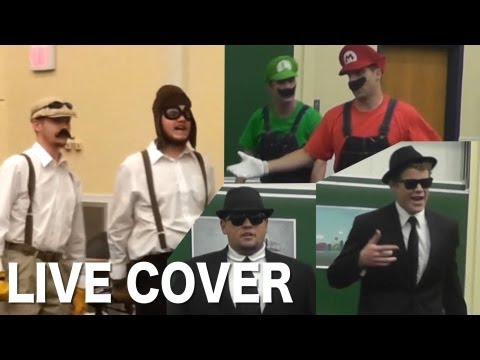 LIVE COVER #2: Mario Bros vs. Wright Bros feat. Blues Bros - Epic Rap Battle of History