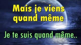 Celine Dion tous les secrets paroles -- lyrics