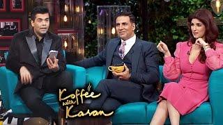 Akshay Kumar & Twinkle On Koffee With Karan Season 5