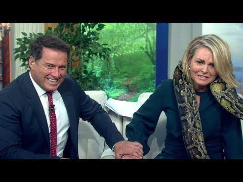 TODAY's Georgie Gardner faces her fears Karl Stefanovic